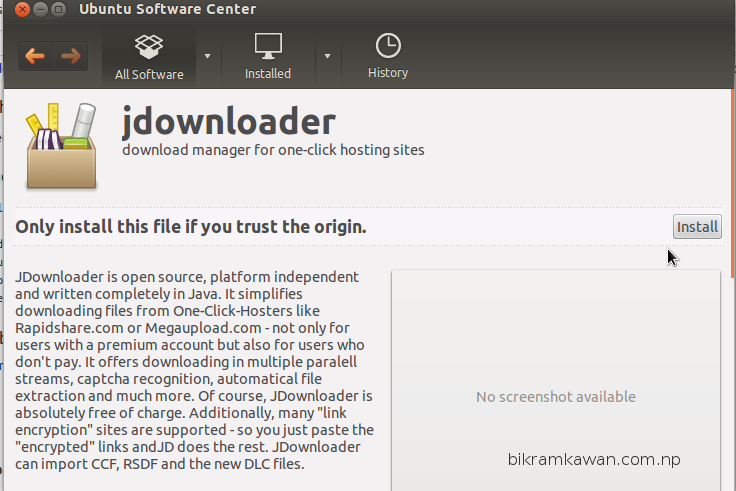 jdownloader ubuntu download